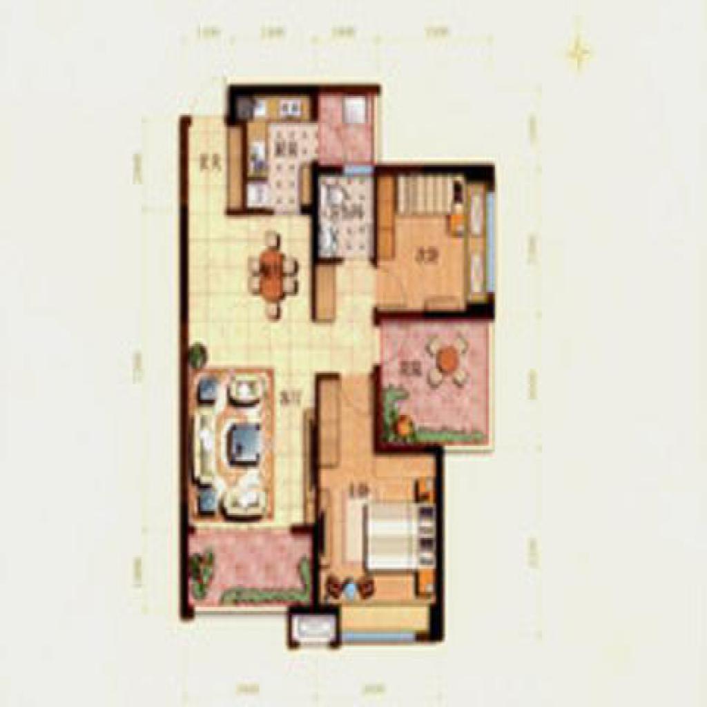 华润凤凰城二期  3室1厅1卫    120.0万