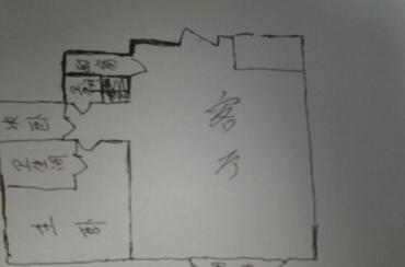上道西城  2室1厅2卫    60.0万