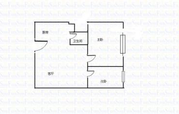 元益花园  1室1厅0卫    1700.0元/月