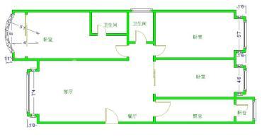 大地锦苑  3室2厅2卫    138.0万