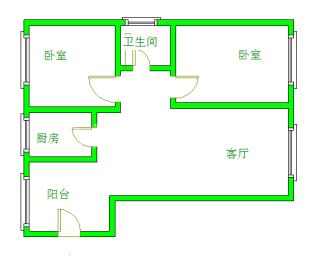 中铁丶西子香荷  2室1厅1卫    240.0万