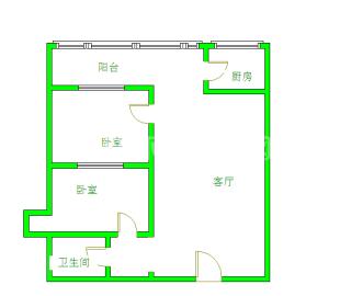 成南领寓  2室2厅1卫    1600.0元/月