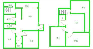 南阳锦城  4室3厅2卫    135.0万