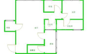 金都花园  3室2厅2卫    126.0万