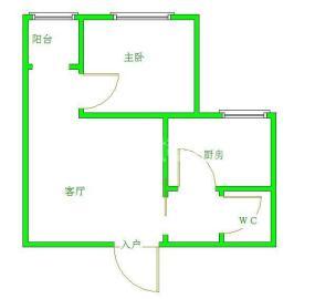千和馨城  1室1厅1卫    1600.0元/月