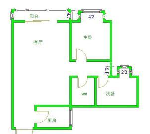 阳光金沙  2室1厅1卫    72.0万