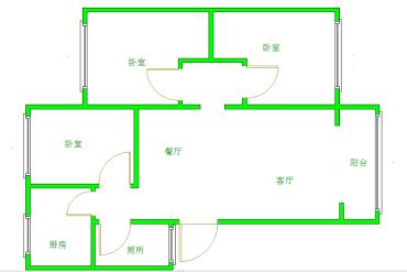 惠民苑  3室2厅1卫    1800.0元/月