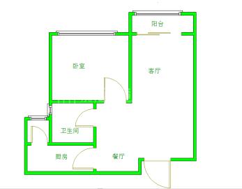 金沙美邻丽谢苑C区  1室1厅1卫    1700.0元/月