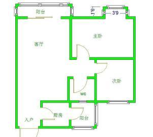 金沙美邻丽谢苑C区  2室1厅1卫    2000.0元/月