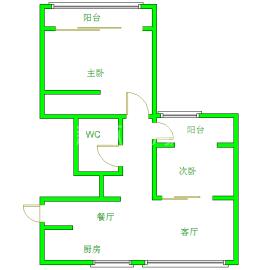 千和馨城  2室2厅1卫    69.0万