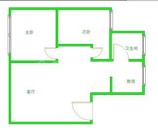 惠民苑  2室2厅1卫    1600.0元/月