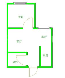 状元府邸  1室1厅1卫    55.0万