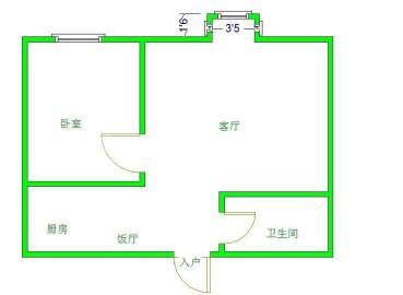 绿杨新邨  1室2厅1卫    61.0万
