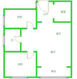 南阳盛世  2室1厅1卫    93.0万