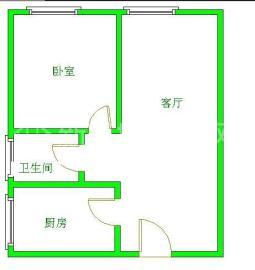 每日香山半岛  2室1厅1卫    1500.0元/月