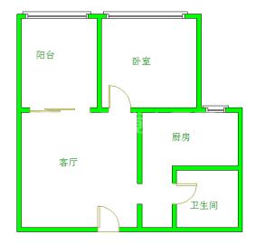 蓝光云鼎(蜀蓉路65号)  1室1厅1卫    2700.0元/月
