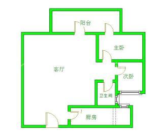 金沙美邻丽谢苑C区  2室1厅1卫    2100.0元/月