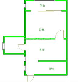 青房尚瑞天韵  1室1厅1卫    1800.0元/月