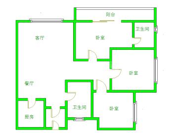 青房尚瑞天韵  3室2厅2卫    2700.0元/月