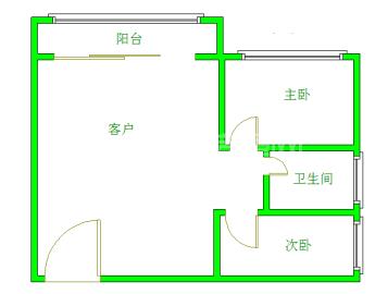 上城成都花园  2室2厅1卫    3000.0元/月