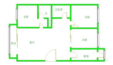 大地锦苑  4室2厅1卫    4000.0元/月