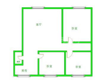 省气象局宿舍  3室2厅1卫    2600.0元/月