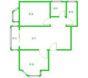 天邑花园  2室1厅1卫    2500.0元/月