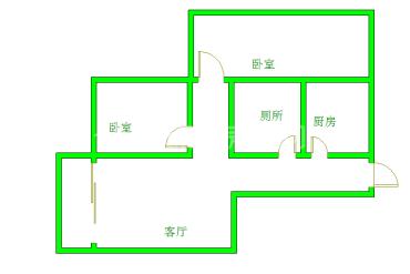 天邑花园  2室1厅1卫    116.0万