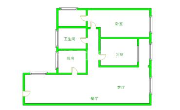 南阳盛世  2室2厅1卫    1500.0元/月