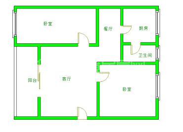 六菱社区  2室2厅1卫    55.0万