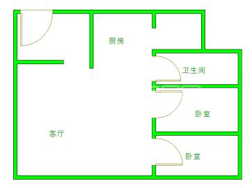 汇锦城A区  2室2厅1卫    3500.0元/月
