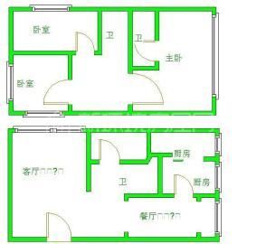 金都花园  3室2厅1卫    5000.0元/月
