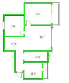 青房尚瑞天韵  2室1厅1卫    1800.0元/月