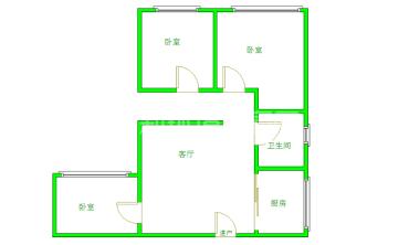 清水河畔  2室1厅1卫    65.0万