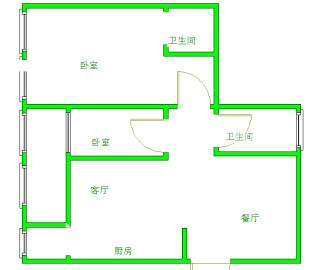 时代晶科名苑  2室1厅1卫    220.0万