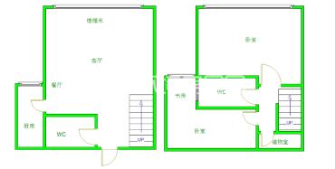 蓝光COCO蜜城  3室2厅3卫    180.0万