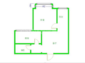 千和馨城  1室1厅1卫    2200.0元/月