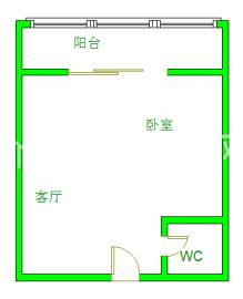 复城国际T5  1室1厅1卫    85.0万