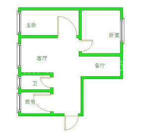 青房尚瑞天韵  2室2厅1卫    1900.0元/月