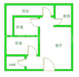 成南领寓  2室2厅1卫    67.0万