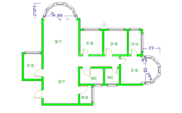 金都花园  4室2厅2卫    190.0万