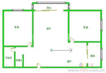 成都花园翠雍华庭  2室2厅2卫    3100.0元/月