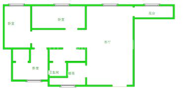 成都奥克斯广场  4室2厅2卫    350.0万
