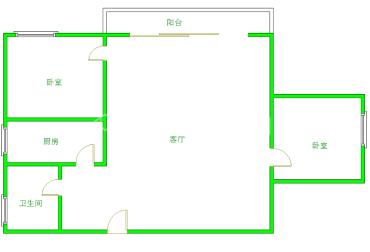 金沙芙蓉苑  2室2厅1卫    160.0万