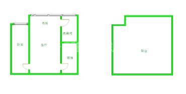 清水河畔  1室1厅1卫    66.0万