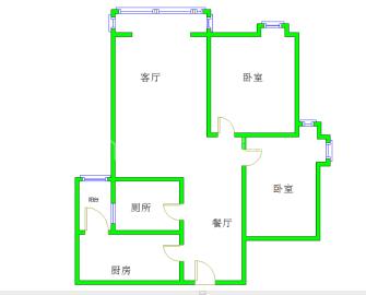 清江之春  2室1厅1卫    103.0万