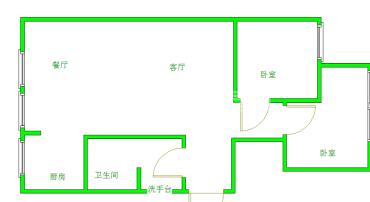 東坡小區  2室1廳1衛    125.0萬