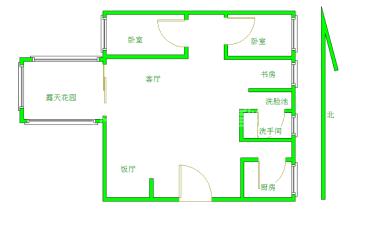 蓝光coco金沙一期  2室2厅1卫    178.0万