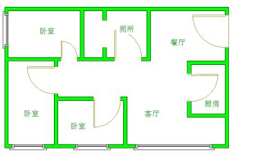 icon尚郡  3室1厅1卫    3400.0元/月