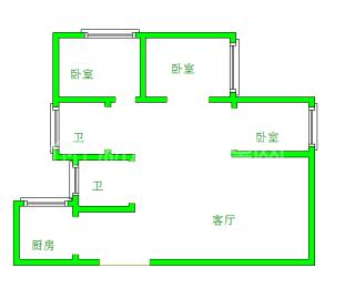 蜀都中心一期  3室2厅1卫    200.0万